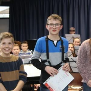 Musikerjugend stellt sich Prüfungen zum Leistungsabzeichen
